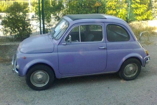 Fiat500bleue