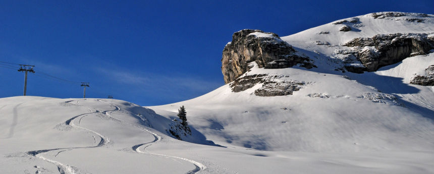 Image station de ski