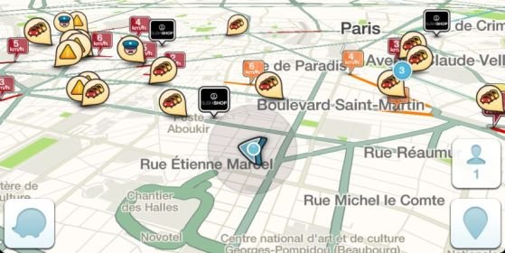 application mobile Waze