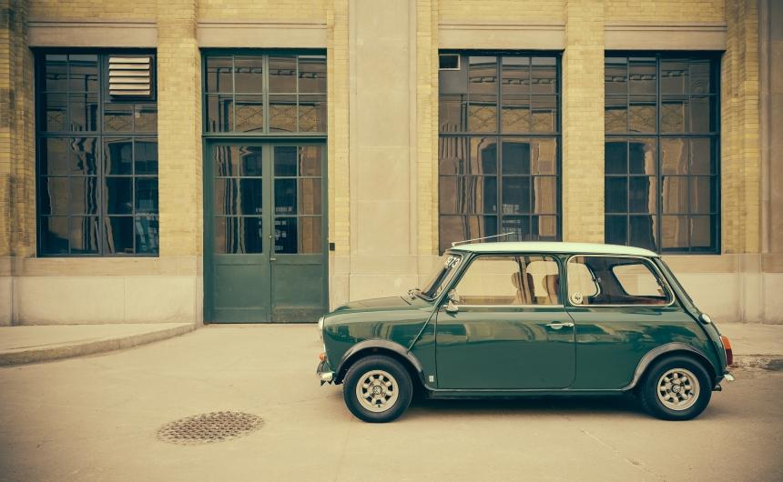Austin Mini vintage